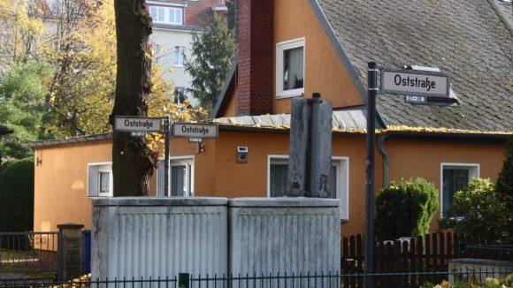 In der Oststraße ...
