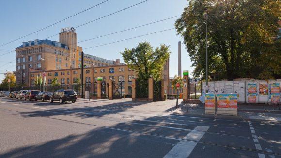 Eingang zum Campus Wilhelminenhof in berlin Oberschöneweide