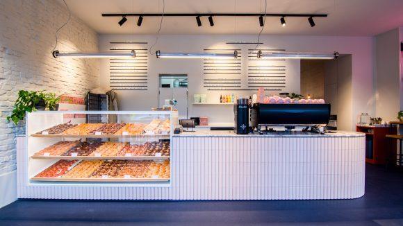 Begehrte Ware: Die veganen Donuts von Brammibal's sind oft rasend schnell ausverkauft.