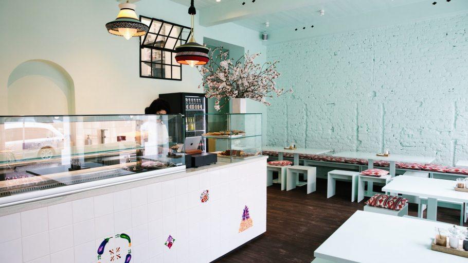 Inneansicht Restaurant rocket Basil
