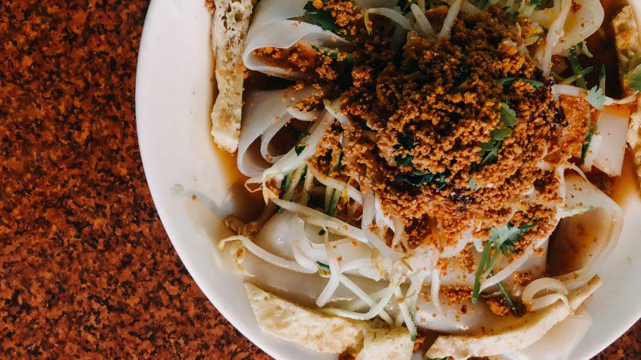 Chinesische Nudeln im Fu Li Lai Chinesischen Restaurant in Steglitz