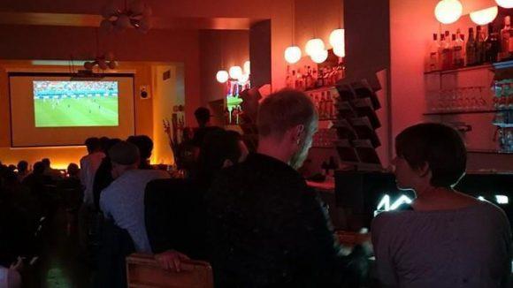 Zur Fußball-WM öffnete die 103 Bar wieder ihre Pforten.