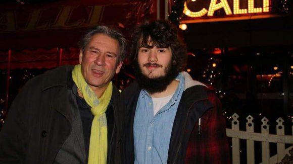 Schauspieler Michael Kind und Sohn Max.