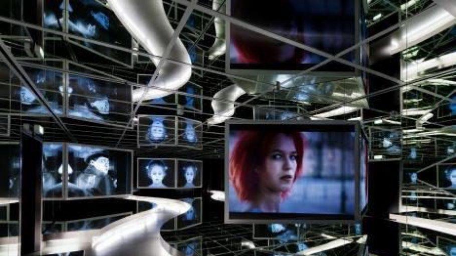 Spiegelsaal der ständigen Ausstellung im Museum für Film und Fernsehen.