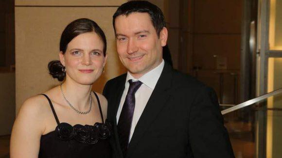 Begeistern sich auf für Hörfilme: die blinde Schwimmerin Daniele Schulte und ihr Mann Christian.
