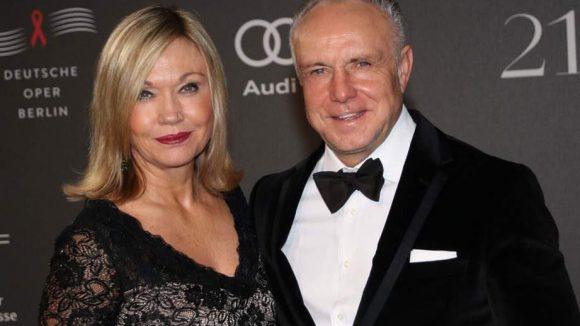 Ex-Fußball-Star Michael Rummenigge mit Ehefrau Caroline.