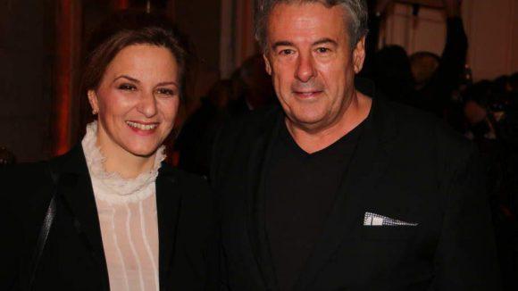 """Schauspielerin Martina Gedeck und Regisseur Markus Imboden. Beide haben schon in vielen Filmen zusammengearbeitet, etwa in """"Am Hang""""."""