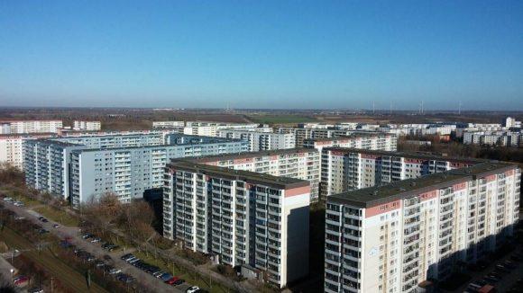 Nördlich vom Neubaugebiet Hohenschönhausen ist es nicht weit bis zur Stadtgrenze.
