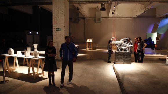 """""""Le Trac"""" nennt sich diese Ausstellung und war 2012 beim Kunstfestival """"48 Stunden Neukölln"""" dabei."""