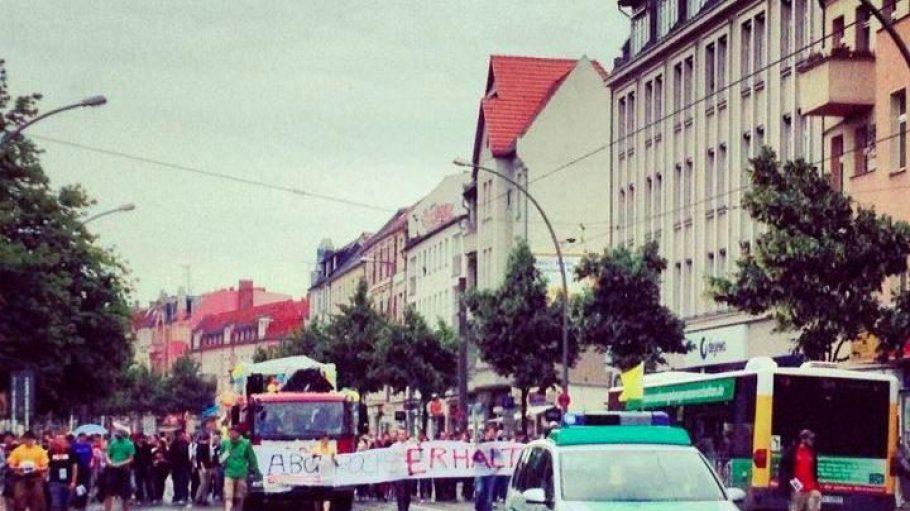 Schon im Juni wurde gegen die Schließung demonstriert.