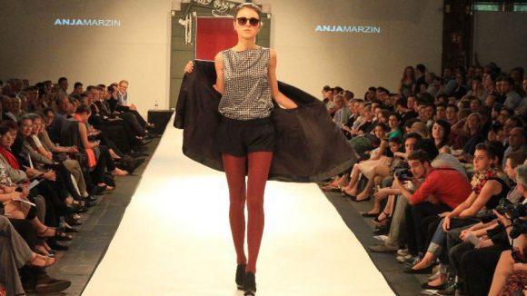 Cool glänzend: ein Entwurf von Anja Marzin.