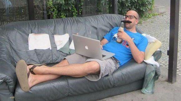 """Adam Fletcher sagt von sich: """"Natürlich bin ich kein Hipster! Sagen alle Hipster. Ein kleiner Hipster steckt doch in uns allen."""""""
