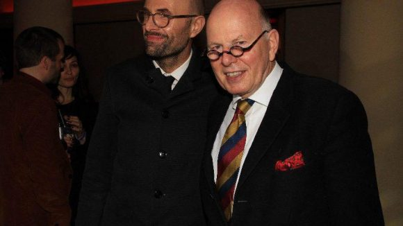 Der Regisseur hier noch mal mit seinem stolzen Vater Christoph Stölzl.