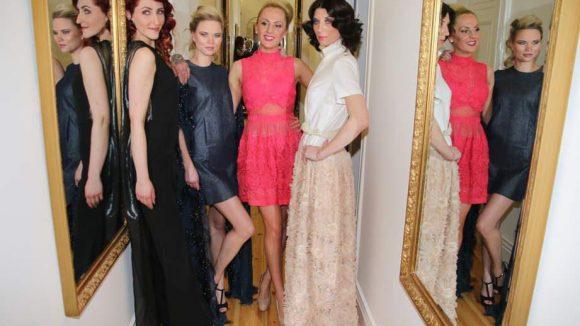 Bei der Eröffnung der neuen Modelagentur durfte natürlich auch eine echte Modenschau nicht fehlen. Präsentiert wurde eine Kollektion des Labels Actuel von Marina Reimann.