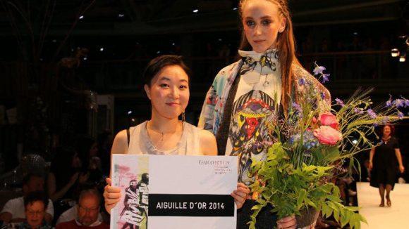 Sie gewann denn auch die goldene Nadel von der Jury.