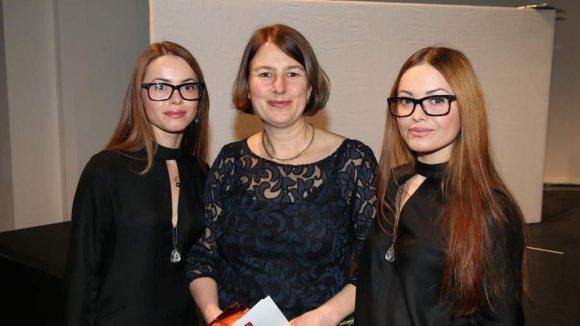 Berlins Akademie-Chefin Elisabeth Busse (Mitte) kann stolz auf ihre Zöglinge sein.