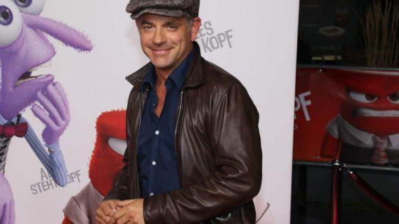 Auch den Schauspieler Florian Fitz trafen wir auf dem roten Teppich.