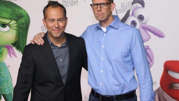 Auf Erfolgskurs: der Produzent Jonas Rivera und der Regisseur Pete Docter.