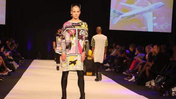 Auch Larry Tee, Star-DJ und Trendsetter aus der New Yorker Club- und Modeszene, war auf der Alternative Fashion Week vertreten.