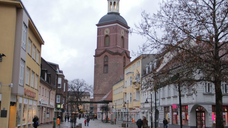 Altstadt Spandau: Blick auf die St. Nikolai-Kirche.