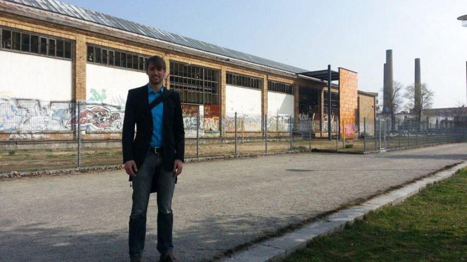 Community Organizer Andreas Richter in Oberschöneweide.