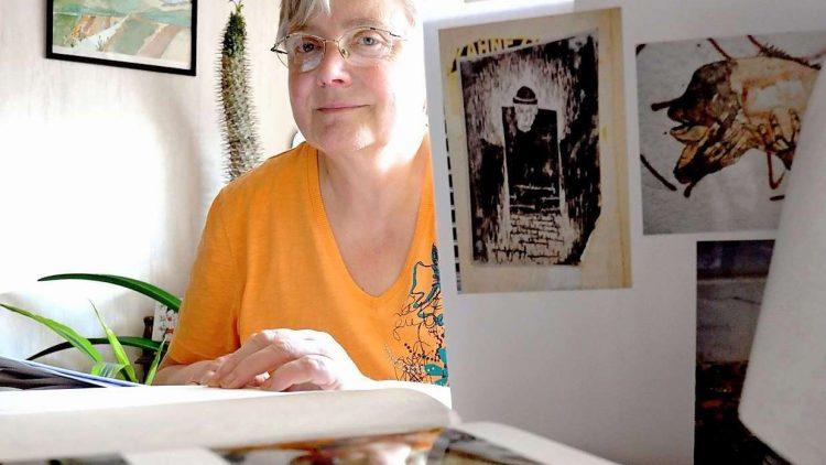 Angelika Bruer, 63, Streetart-Sammlerin aus Rudow