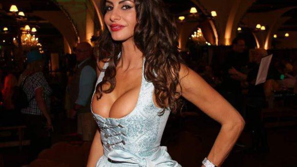 """Scheint ihren Kurzaufenthalt bei """"Promi Big Brother"""" zumindest körperlich gut verkraftet zu haben: Model Janina Youssefian."""