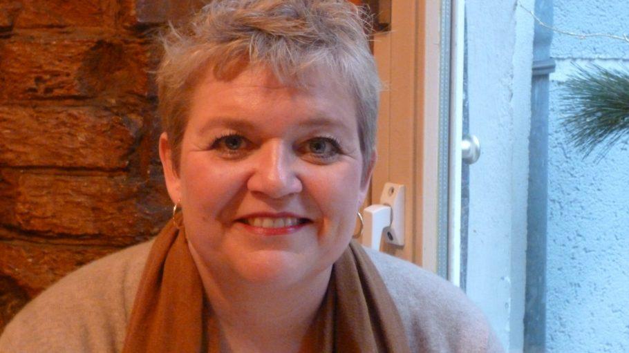 Wenn nicht in Falkensee, wo sie Zuhause ist, dann fühlt sich Radiomoderatorin Anja Goerz in der City West am wohlsten...