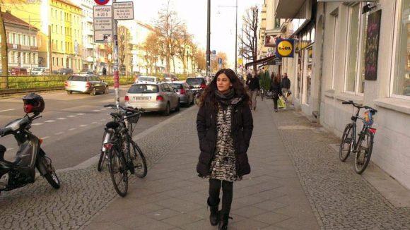 Ein Teil ihres Lebens spielt sich nun entlang der Greifswalder Straße ab.