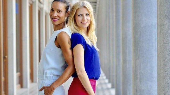 Die Medienwelt verbindet: Die Moderatorinnen Annabelle (l.) und Tanja sind seit fast 20 Jahren befreundet.