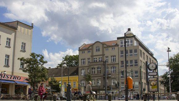 Der Antonplatz in Weißensee ist eines der Zentren im Kiez.