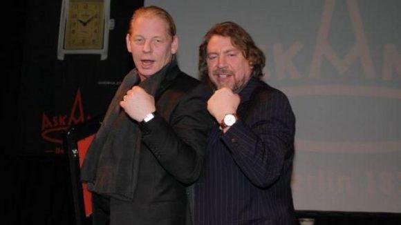 Gute Freunde: Armin Rohde und Ben Becker.