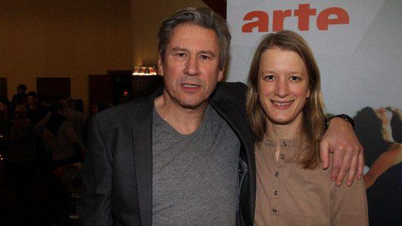 Absolventen unter sich: Michael Kind und Stephanie Stremler lernten beide an der renommierten Schauspielschule Ernst Busch.