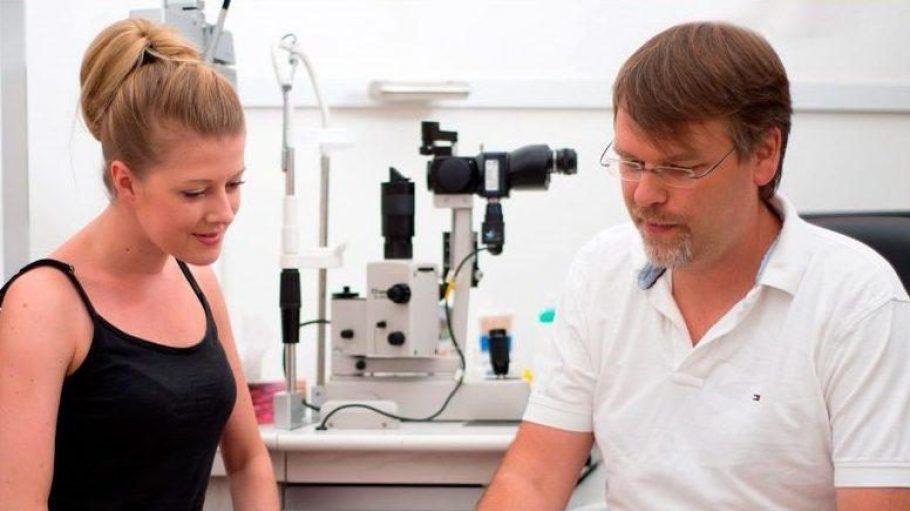 Bei Dr. Jerrentrup und seinem Team kannst du dich in allen Fragen rund ums Auge beraten lassen.