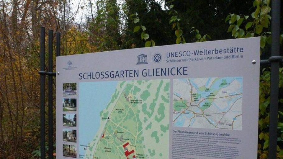 Ein Ausflug in den Schlossgarten Glienicke.