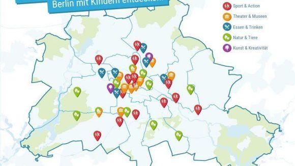 Diese Infografik hilft Familien beim Entdecken von Berlin.