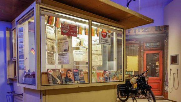Fast wie früher: In der Kulturbrauerei ist bald ein echter DDR-Kiosk zu bestaunen.