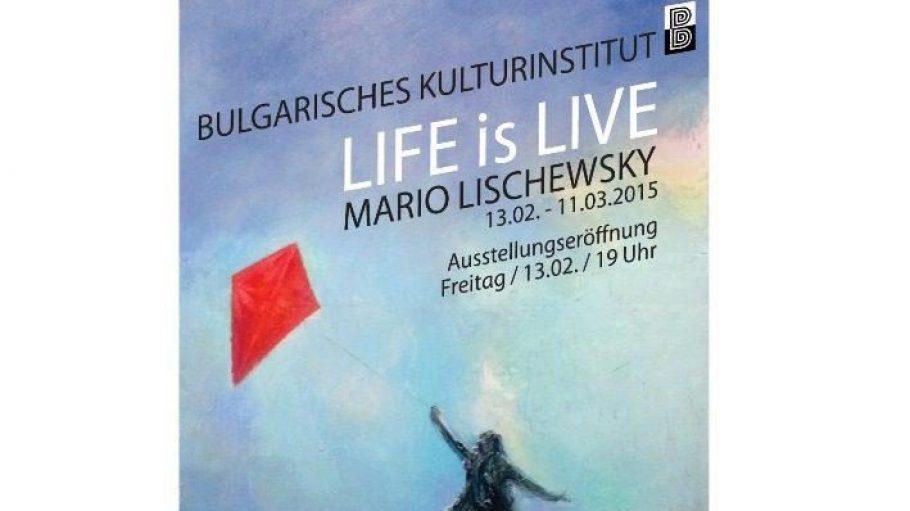 """Die Ausstellung """"Life is Live"""" ist bis zum 11. März geöffnet."""