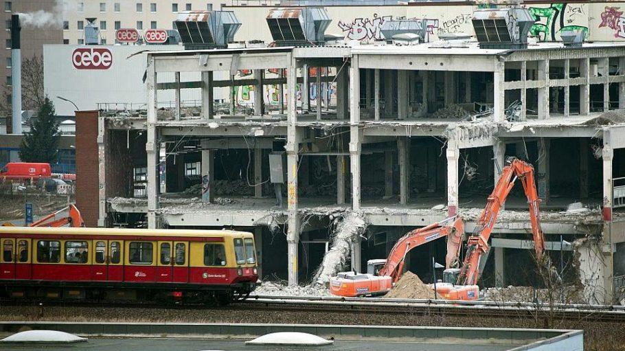 Vom Weiterbau der A100 ist ab Donnerstag, 2. April auch die S-Bahn betroffen.