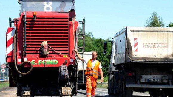 Mit der Erneuerung der Berliner Autobahn 115 geht es zügig voran.