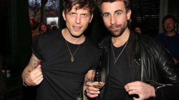 Nochmal die Blogger von Dandy Diary: David Kurt Roth (links) und Carl Jakob Haupt.