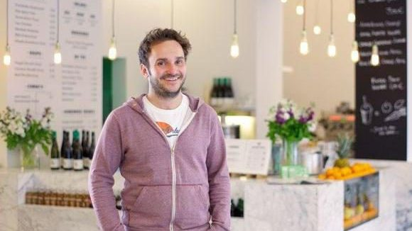 Babanbè-Gründer Paul Krengel in seinem Restaurant.