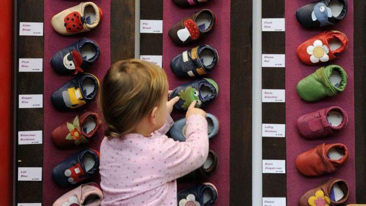 """Auf der Messe """"Babywelt"""" können auch die Kleinen schon ihre Vorlieben ausleben."""