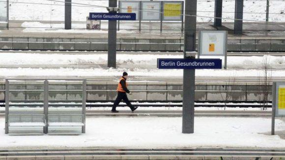 Eine Empfangshalle würde dem Bahnhof Gesundbrunnen gut tun.