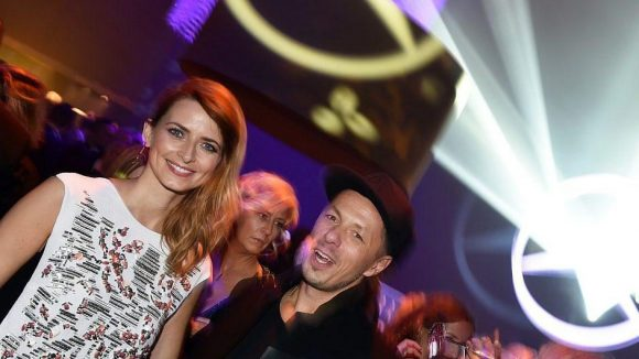 """Auf der After Party feierten unter anderem Model Eva Padberg und Michi Beck, der mit den Fantastischen Vier in der Kategorie """"Musik National"""" erfolgreich war."""