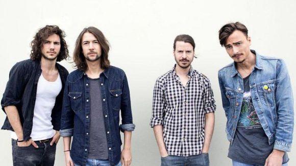 Abby, das sind Philipp (Gitarre, Cello), Filou (Gesang), Henne (Schlagzeug) und Lorenzo (Keyboard) (v.l.n.r.).