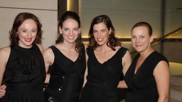 Als musikalisches Highlight konnte das Quartett Salut Salon gewonnen werden.