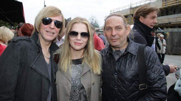 Die Band Silly mit Anna Loos war auch da.