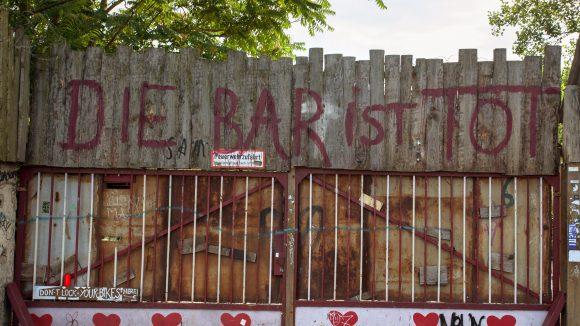 Die Legende lebt! Dabei hat die Bar 25 schon seit 2010 geschlossen.