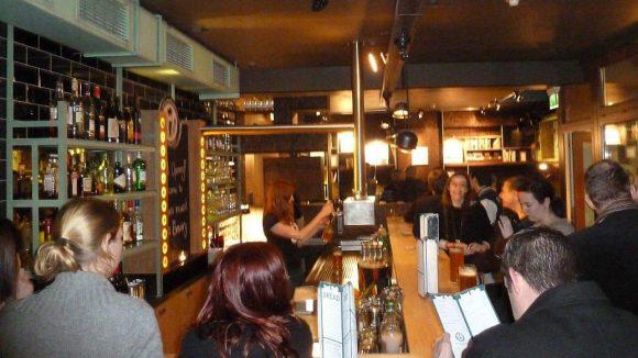 Der Keller der Katz & Maus Bar wurde rechtzeitig zur Eröffnung der Brauerei umgestaltet.
